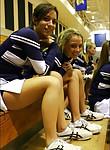Busty blonde cheerleader fucks hard in the locker room