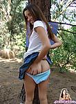 Cute chloe eighteen showing her little butt