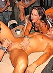 Drunken girls going insane in the club