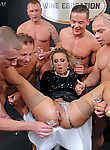 Wine Tasting Becomes Piss Soaked Gangbang