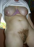 Nice hairy milf pussy holes. It seems like when they ate the wedding cake they for got what a razor was.