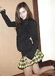 Seductive brunette